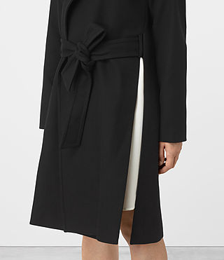 Damen Indira Penza Coat (Black) - product_image_alt_text_2