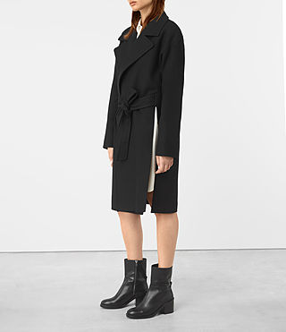Damen Indira Penza Coat (Black) - product_image_alt_text_3