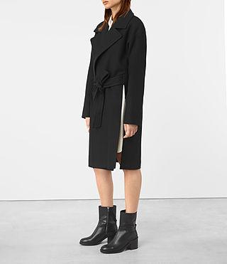 Donne Indira Penza Coat (Black) - product_image_alt_text_3