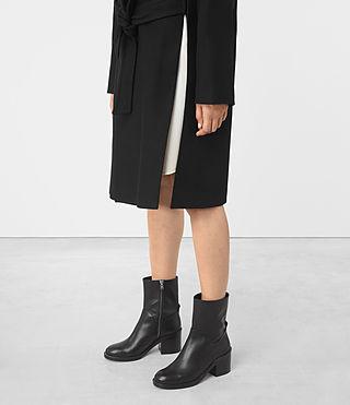 Donne Indira Penza Coat (Black) - product_image_alt_text_4
