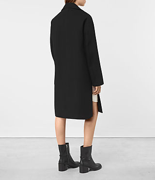 Damen Indira Penza Coat (Black) - product_image_alt_text_5