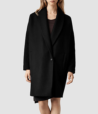 Womens Dante Coat (Black)