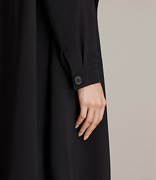 Femmes Trench-coat Lia (Black) - product_image_alt_text_5