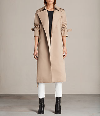Donne Trench Miley (SAND BROWN) - Image 1