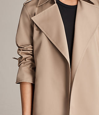 Donne Trench Miley (SAND BROWN) - Image 2