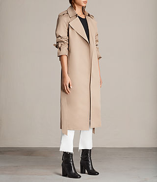 Womens Miley Mac (SAND BROWN) - Image 3
