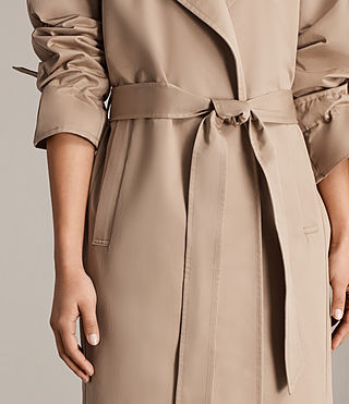 Donne Trench Miley (SAND BROWN) - Image 5