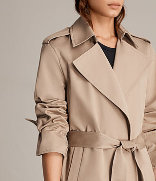 Donne Trench Miley (SAND BROWN) - Image 6