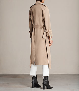 Donne Trench Miley (SAND BROWN) - Image 7