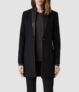 Womens Lorie Coat (Ink)