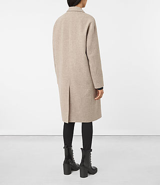 Womens Sancia Lotto Coat (Taupe Brown) - product_image_alt_text_5