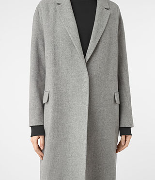 Femmes Manteau Sancia Lotto (Grey) - product_image_alt_text_3