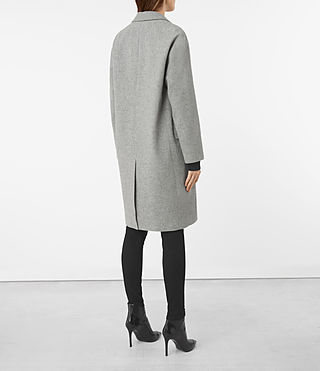 Femmes Manteau Sancia Lotto (Grey) - product_image_alt_text_5
