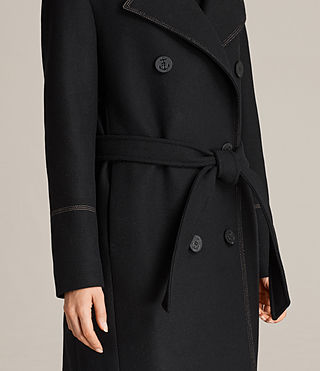 Womens Ripley Coat (Black) - Image 2