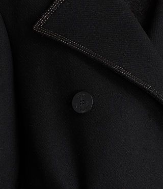 Womens Ripley Coat (Black) - Image 4