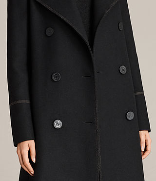 Womens Ripley Coat (Black) - Image 5