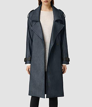 Womens Arti Coat (Blue)