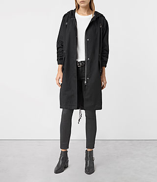 Womens Caden Parka (Black)
