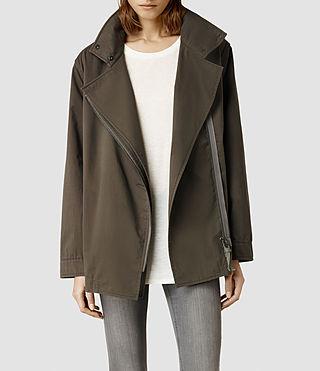 Womens Lance Jacket (Light Khaki)