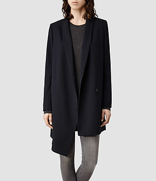 Womens Verne Coat (Ink)