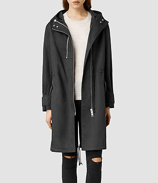 Womens Broc Parka (Black)