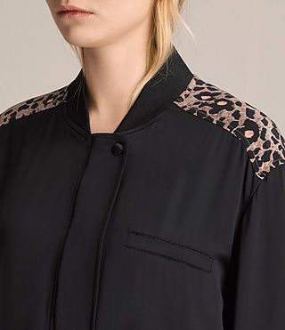 Donne Bomber Cleo Lyos (Black) - product_image_alt_text_2