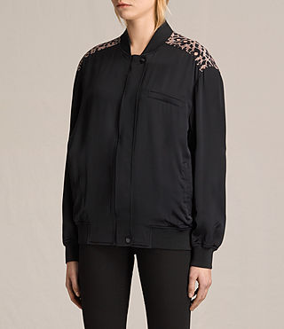 Donne Bomber Cleo Lyos (Black) - product_image_alt_text_3