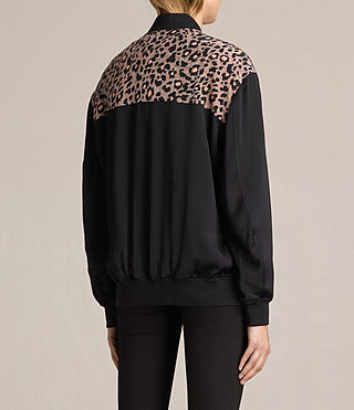 Donne Bomber Cleo Lyos (Black) - product_image_alt_text_5