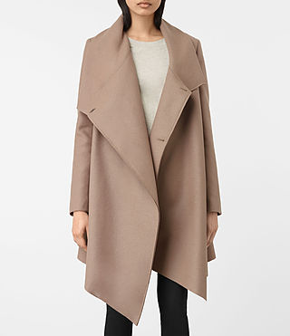 Femmes City Monument Coat (Dune) - product_image_alt_text_2