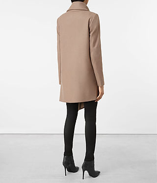 Femmes City Monument Coat (Dune) - product_image_alt_text_5