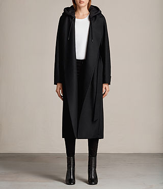 sienna hooded coat