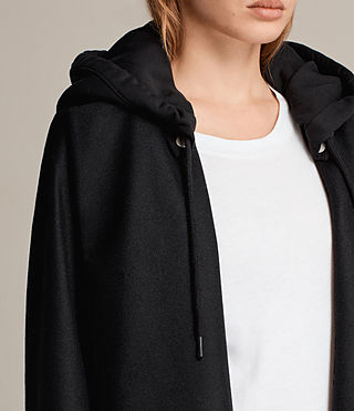 Donne Cappotto Sienna (Black) - Image 2