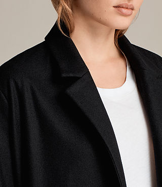 Donne Cappotto Sienna (Black) - Image 4
