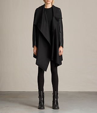 Damen Hyde Monument Coat (Black) -
