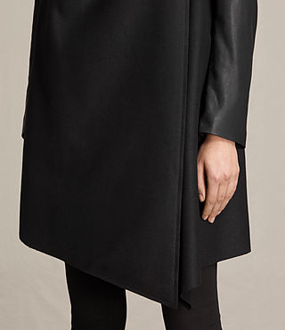 Femmes Manteau Hyde Monument (Black) - product_image_alt_text_4