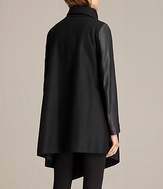 Femmes Manteau Hyde Monument (Black) - product_image_alt_text_6