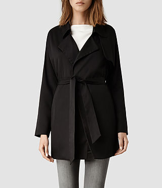 Womens Nya Coat (Black)