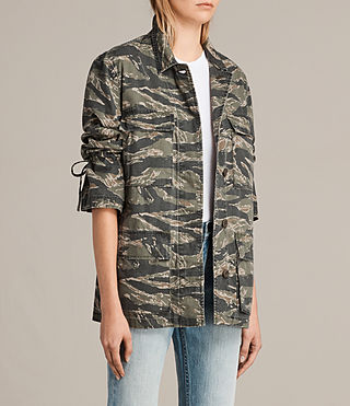 Womens Rasko Jacket (CAMO KHAKI GREEN) - product_image_alt_text_3