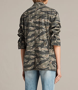 Womens Rasko Jacket (CAMO KHAKI GREEN) - product_image_alt_text_5