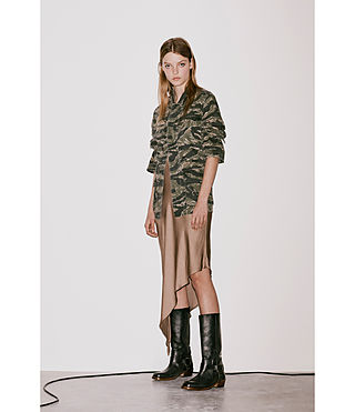 Womens Rasko Jacket (CAMO KHAKI GREEN) - product_image_alt_text_6