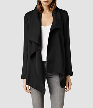 Womens Aiko Monument Jacket (Black)