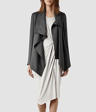 Womens Aiko Monument Jacket (Grey)