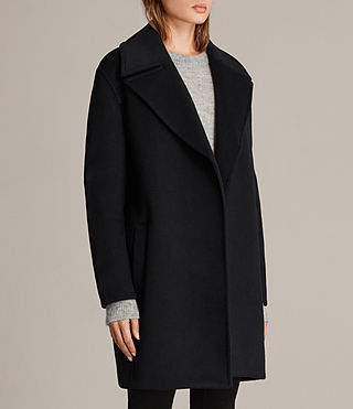 Women's Remi Coat (Ink Blue) - Image 3