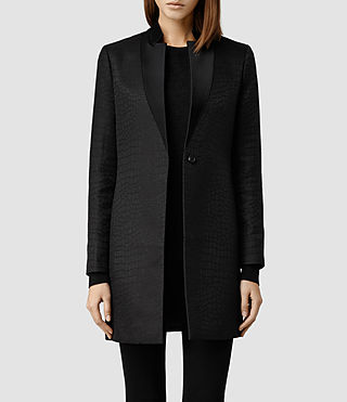Womens Onix Lorie Coat (Black)