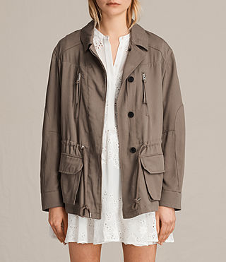 Damen Amaris Jacke (DUST OLIVE GREEN) -