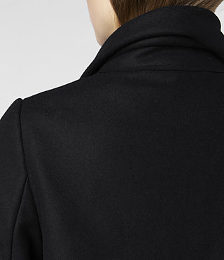 Womens City Monument Coat (Black) - product_image_alt_text_6