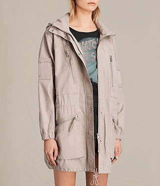 Womens Skyler Parka (Dusty Pink) - product_image_alt_text_3