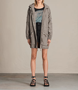 Womens Skyler Parka (SOFT KHAKI GREEN)