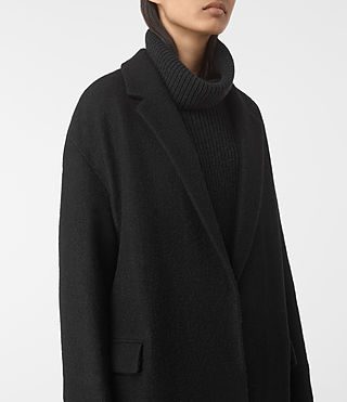 Mujer Sancia Coat (Black/Grey) - product_image_alt_text_3