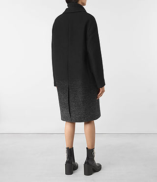 Womens Sancia Coat (Black/Grey) - product_image_alt_text_5